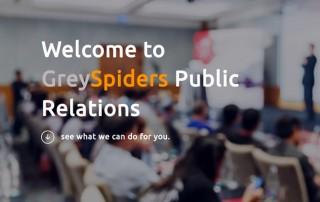GreySpiders website screenshot
