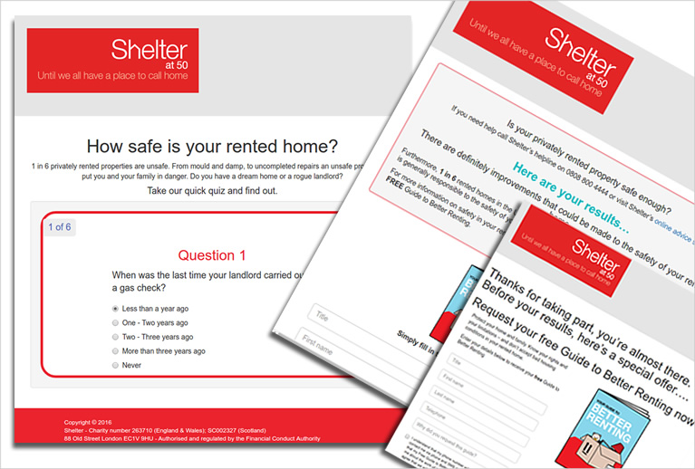 Shelter campaign