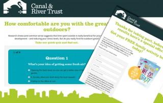 Online campaign quiz