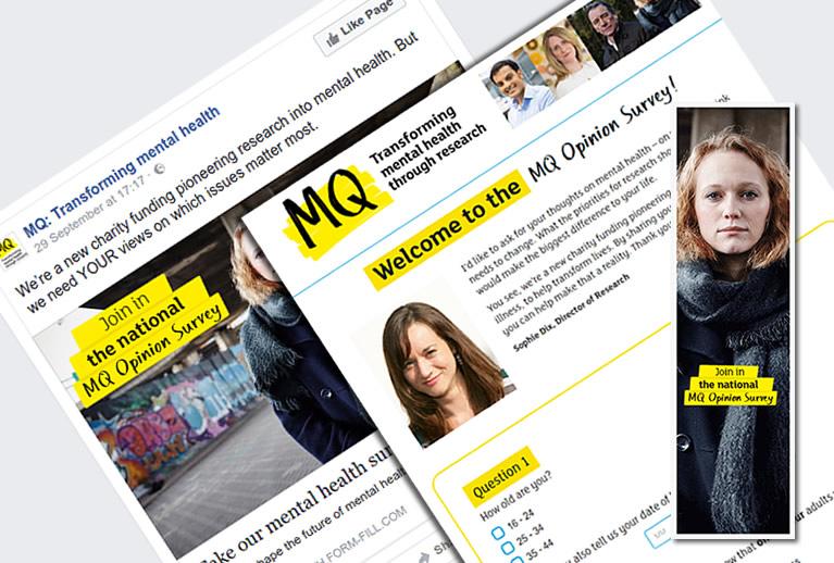 MQ Mental Health campaign