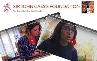 Sir John Cass's Foundation Video Screenshots