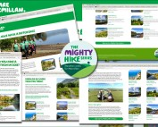 Mighty Hikes campaign image