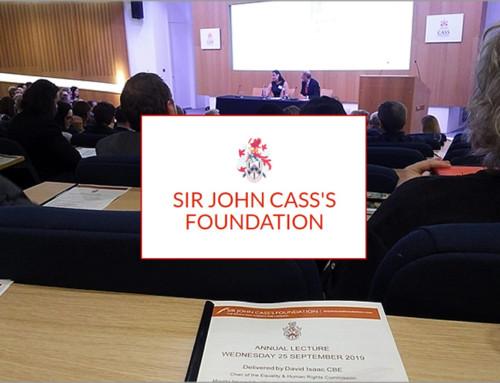 September 2019 – Cass Lecture 2019