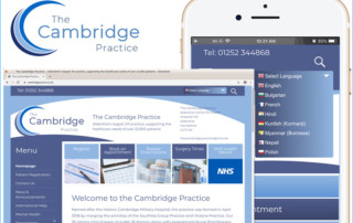 The new Cambridge Practice website